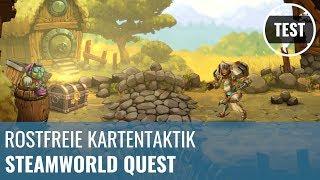 Steamworld Quest - Hand of Gilgamech im Test: Rostfreie Kartentaktik (German)