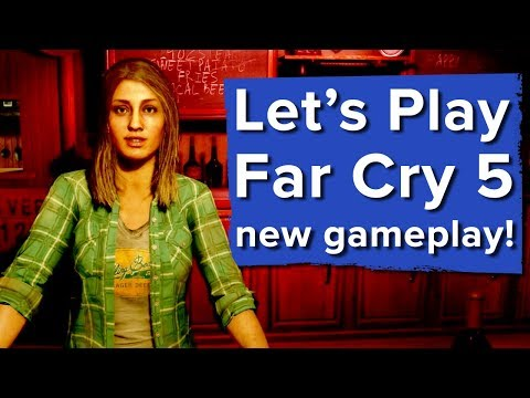 Let's Play Far Cry 5 - DOGS, BASEBALL BATS AND FISHING! - Far Cry 5 PS4 gameplay