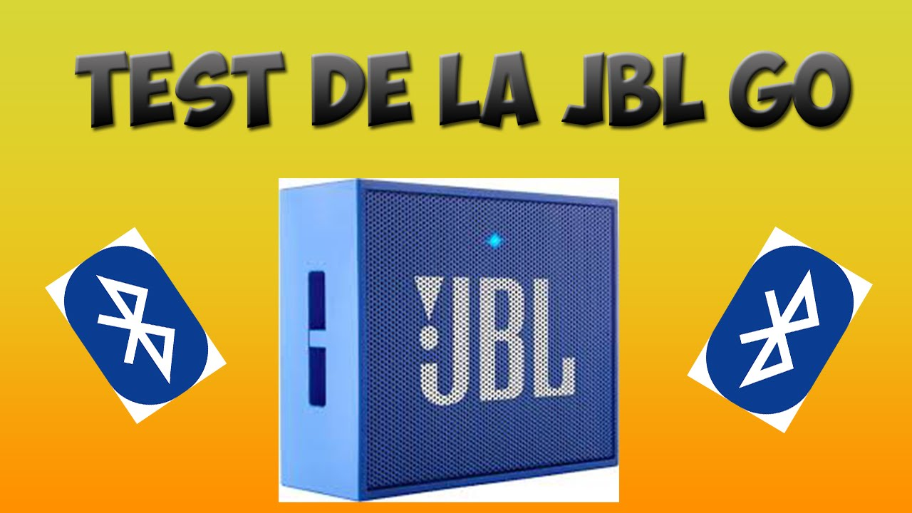 test de l 39 enceinte bluetooth jbl go youtube. Black Bedroom Furniture Sets. Home Design Ideas