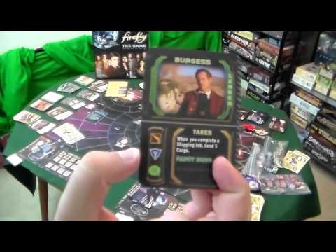 Board Game Review and Gameplay Demo - Firefly