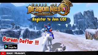 Buruan Daftar CBT !!! World of Dragon Nest (ENG) CBT INFO Released (Limited Test)