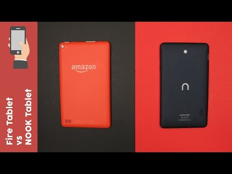 "Amazon Fire Tablet vs NOOK 7"" ─ What's the best $50 tablet?"