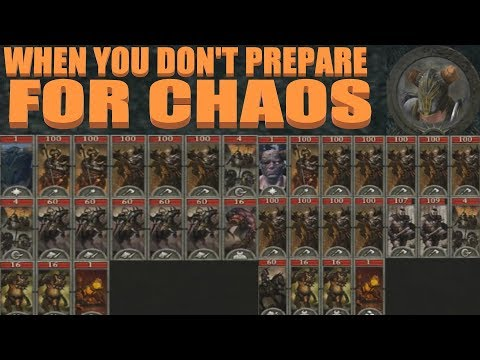 When You Don't Prepare For Chaos