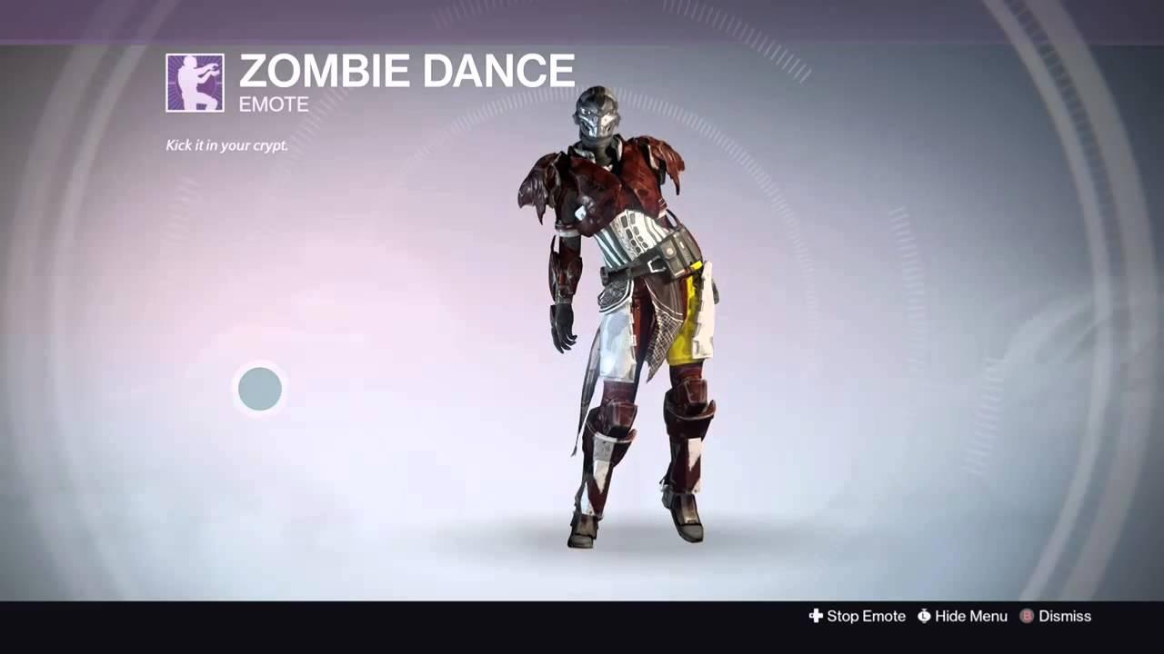 Destiny Dance Gif: DESTINY: FEMALE EXO TITAN Dancing The NEW ZOMBIE DANCE