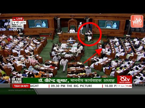 Sonia Gandhi Behavior With PM Narendra Modi in Parliament   Lok Sabha   YOYO TV Channel