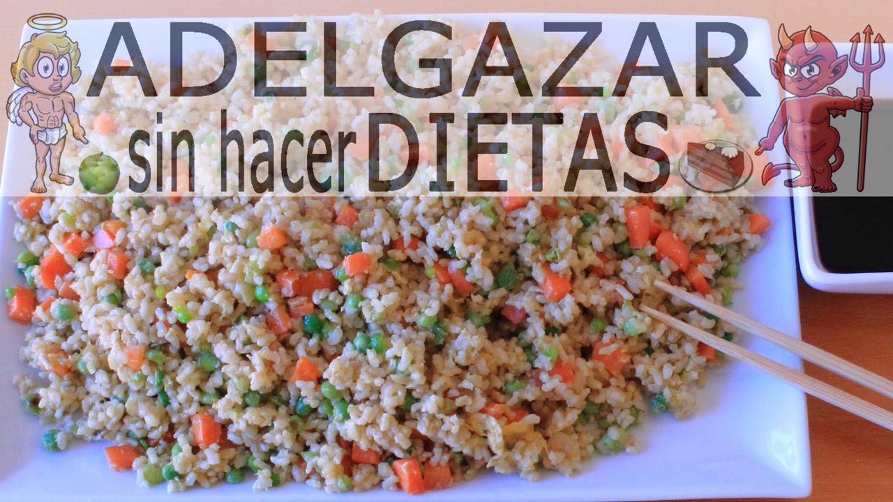 Adelgazar comiendo arroz tres delicias