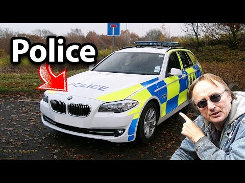 Here's What Used Police Cars Are Like In England