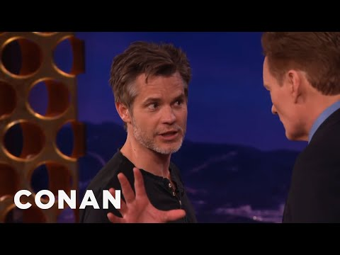 Timothy Olyphant's Masterclass On Stage Vs. Screen Acting   CONAN on TBS