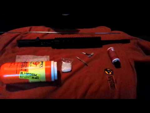 Cleaning smith & wesson m&p 15 22 barrel