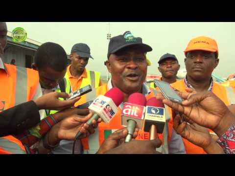 FORTY ONE NIGERIAN UK DEPORTEES ARRIVE LAGOS
