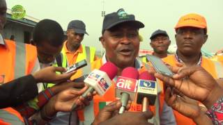 FORTY ONE NIGERIAN UK DEPORTEES ARRIVE LAGOS