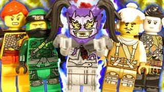 LEGO NINJAGO HUNTED PART 4 - FALL OF NINJAGO CITY