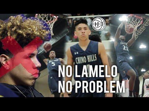 Chino Hills WINS CHAMPIONSHIP WITHOUT LAMELO BALL! Will Pluma COMEBACK and Big O DROPS 40!!
