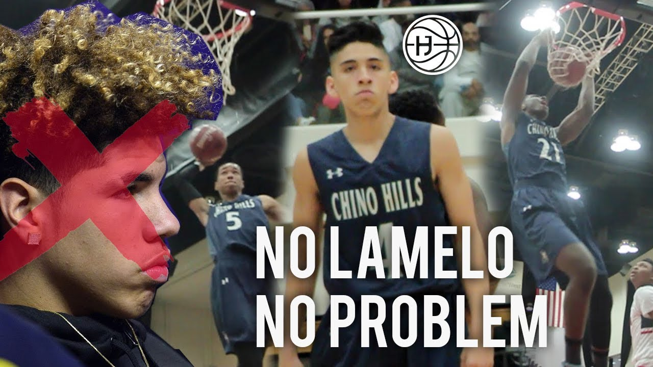 Chino Hills WINS CHAMPIONSHIP WITHOUT LAMELO BALL! Will Pluma ... 8cf5a3bf5