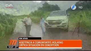 Telefuturo- situación de los inundados en concepción - 22mar19