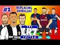 ⚫#2 THE CR7 FACTOR - REPLACING RONALDO!⚪ (feat. Mbappe, Messi, Neymar, Hazard and more! PARODY)