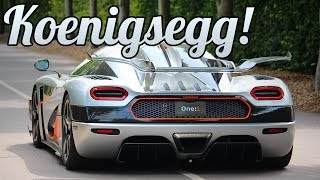2 5 million 1360hp koenigsegg one 1 photoshoot and wobbly loading at goodwood race circuit