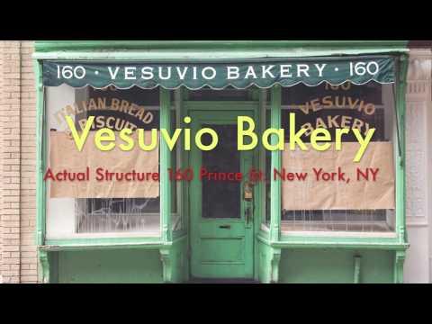 Vesuvio Bakery - Scale Model