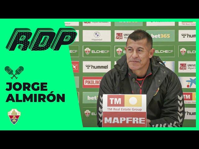Elche CF Oficial - Jorge Almirón: