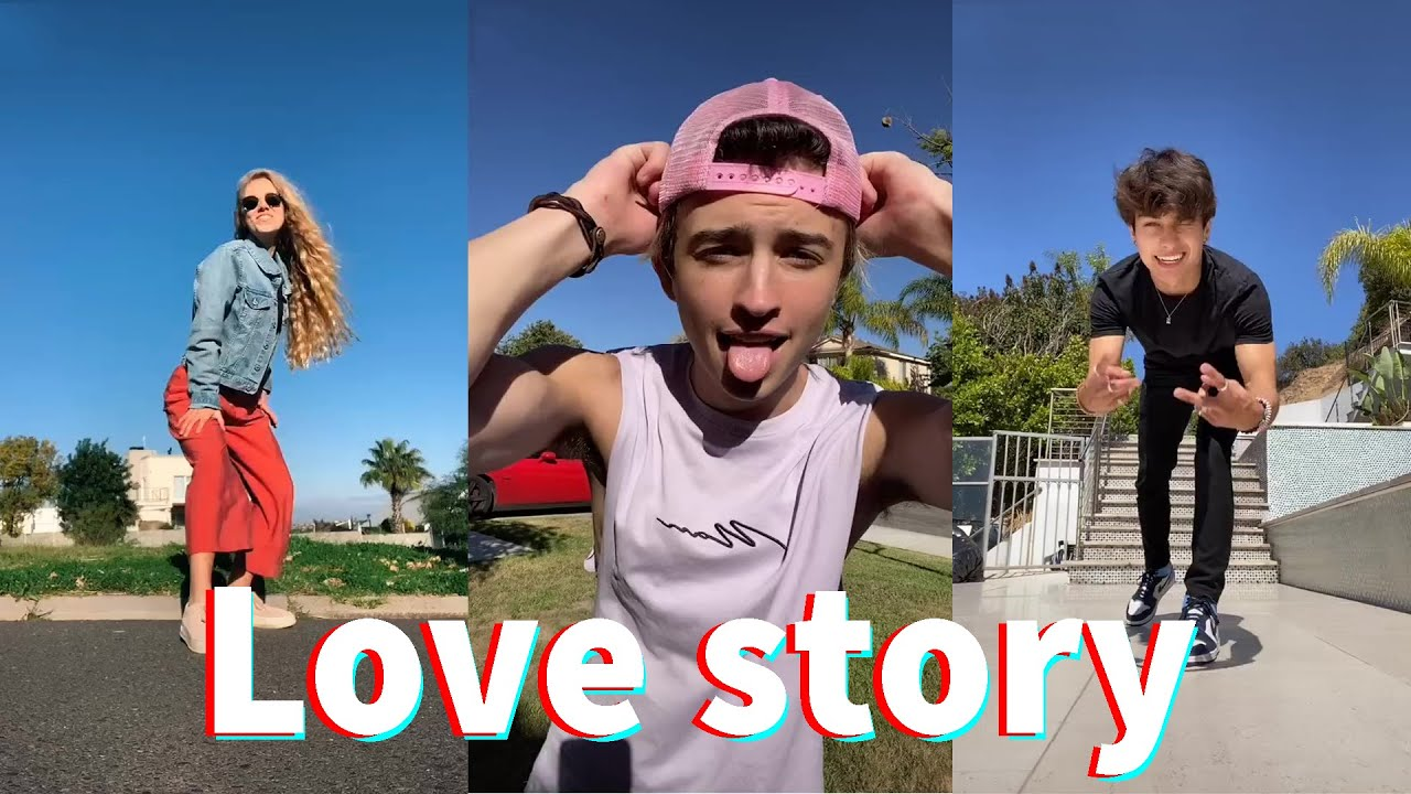 Love story discolines - ethanishung TikTok Compilation