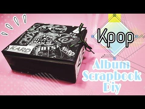 Cómo hacer un ALBUM SCRAPBOOk/ K-pop *DIY* [Primera Parte]