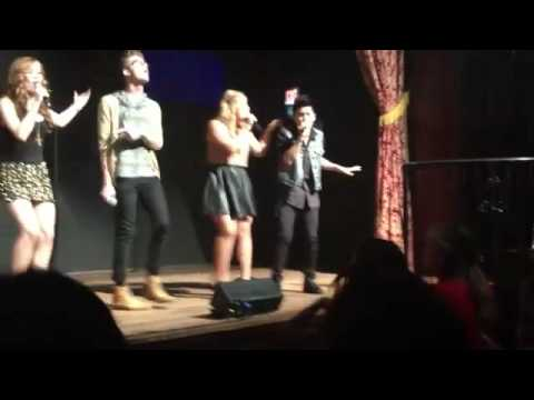 The Glee Project Concert - We Found Love Cameron, Abraham, Charlie, Shanna, Lily and Marissa