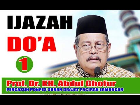 Prof. Dr. KH. Abd Ghofur ( PENGASUH PONPES SUNAN DRAJAT - PACIRAN LAMONGAN)