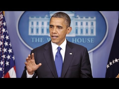 Obama Speaks on the Boston Bombings