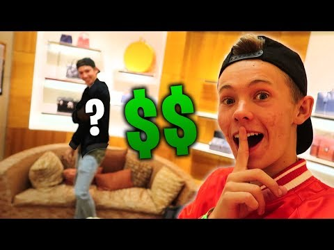 HE CRIED OVER A $3,000 LOUIS VUITTON JACKET!