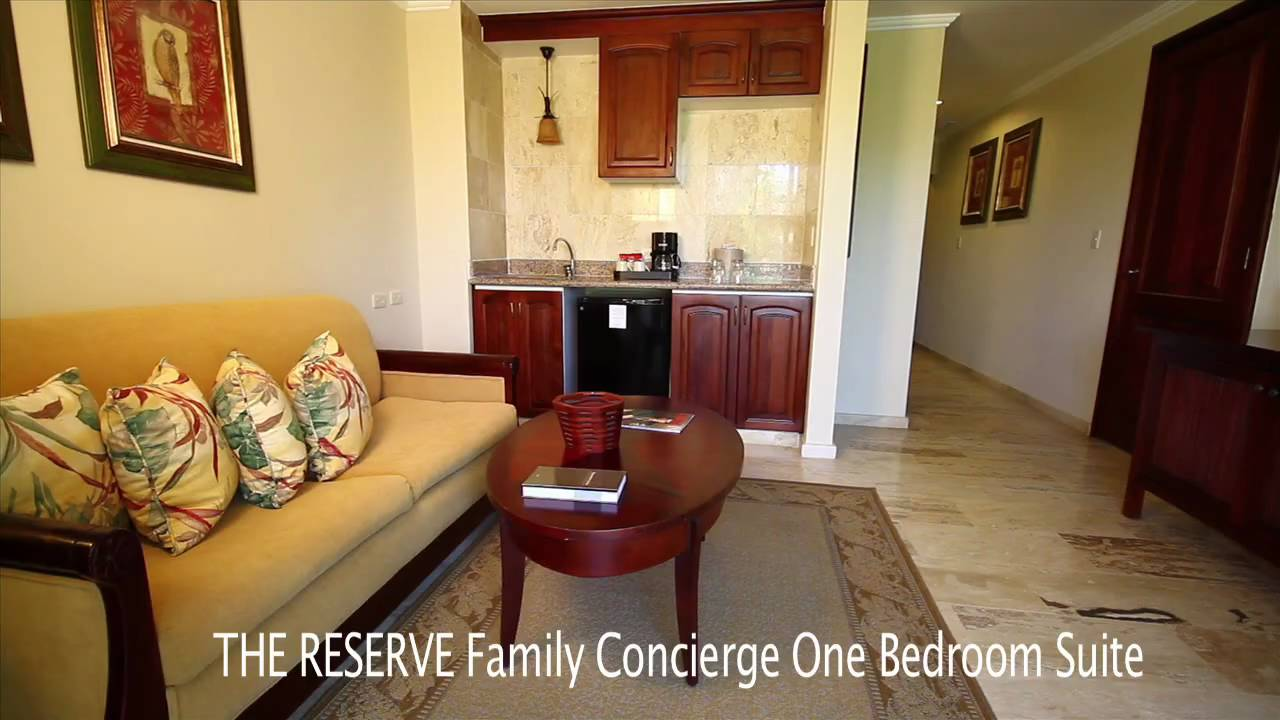 Paradisus Palma Real  The Reserve Family Concierge One Bedroom Suite Room Preview  YouTube