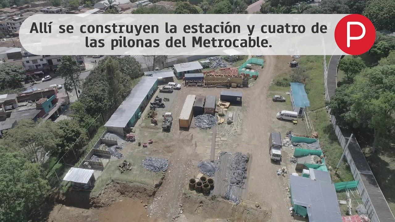 Así avanza la construcción del Metrocable Picacho