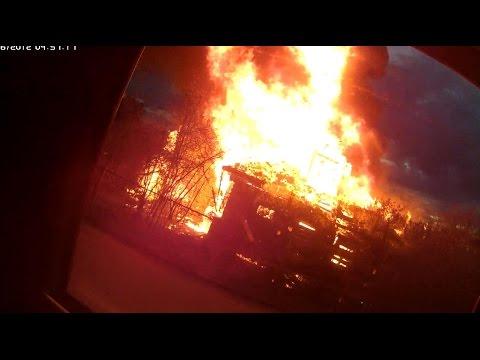 Пожар Лихачевское шоссе