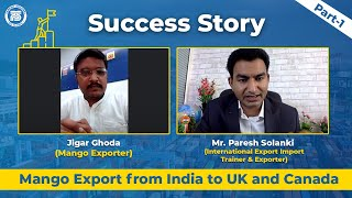 How to Export Mango from India to UK and Canada..?? | Step by Step process | Export Import Business