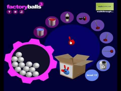 Factory Balls 3 Walkthrough (All levels 1-30) - YouTube