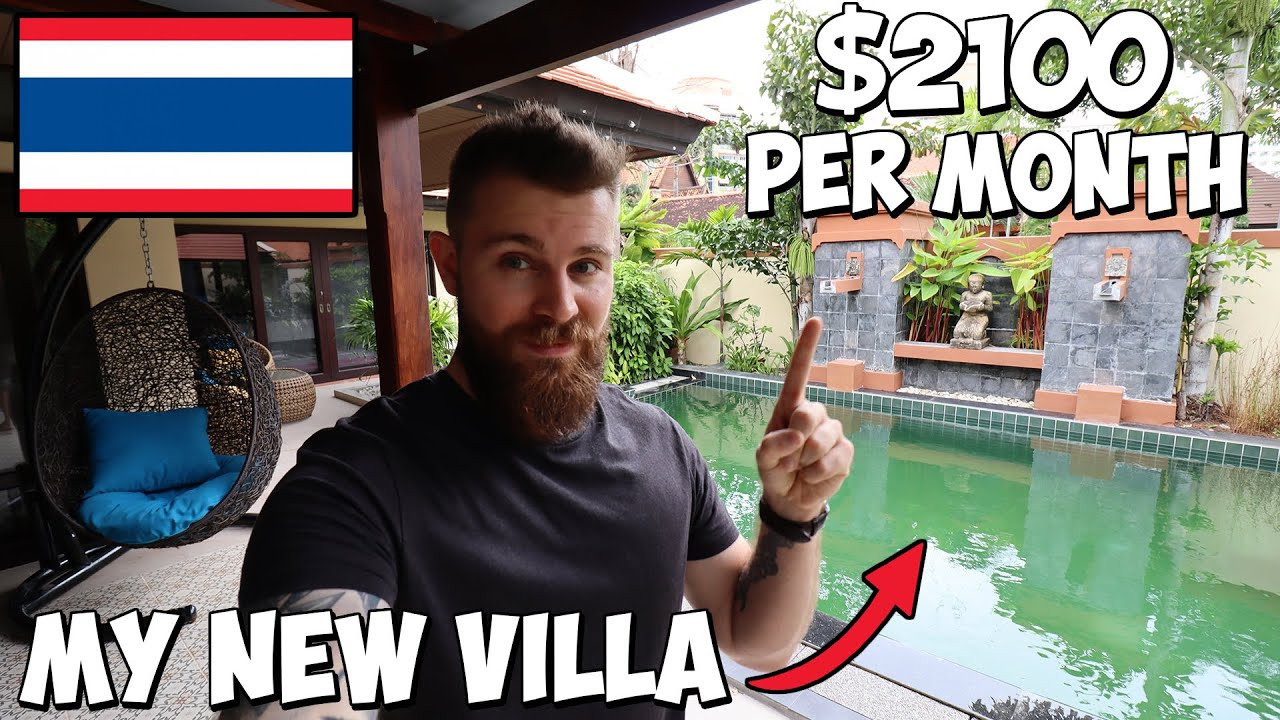 $2100 per month will get you THIS in Thailand...