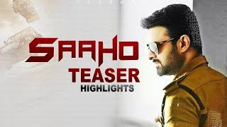 Saaho Official First look Saaho Official First Look Teaser  Saaho Official Teaser  Saaho  Telugu Por