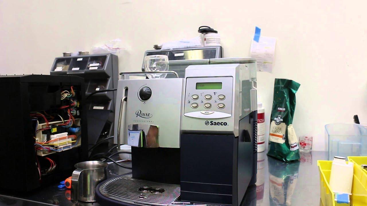 saeco royal espresso machine youtube. Black Bedroom Furniture Sets. Home Design Ideas