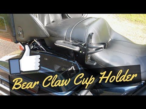 2019 HONDA GOLDWING CUP HOLDER (Bear Claw Style)