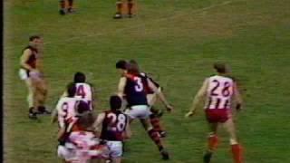 north vs west round 14 1990
