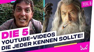 5 YouTube-Videos, die JEDER kennen sollte! - Teil 6 | TOP 5