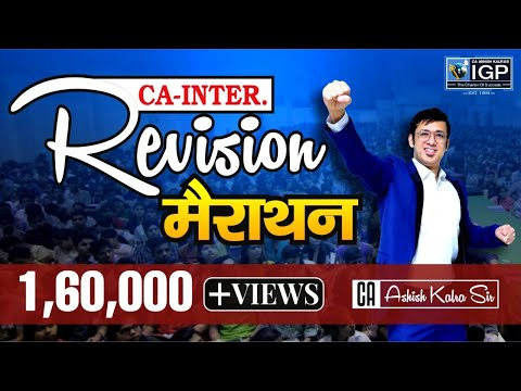 REVISIONARY CLASSES of CA-IPC Cost for Nov 2017 Exam By CA Ashish Kalra