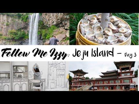 Follow Me: Jeju Island Day 3 (ep.4) | Alive Museum, Jeongbang Waterfall, , Daepo Jusangjeolli Cliff