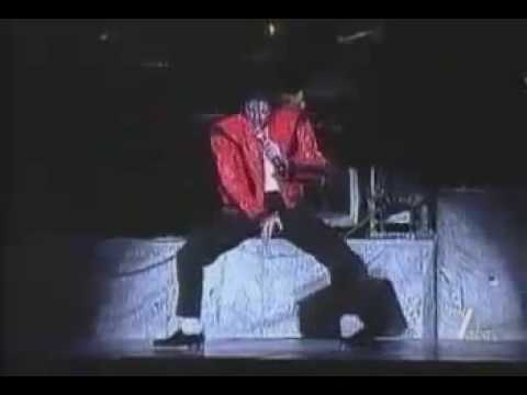 michael jackson thriller live history tour w red jacket