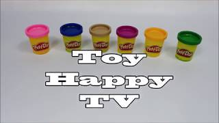 PlayDoh  Ribbon Topping Cupcake and Egg Car Toy