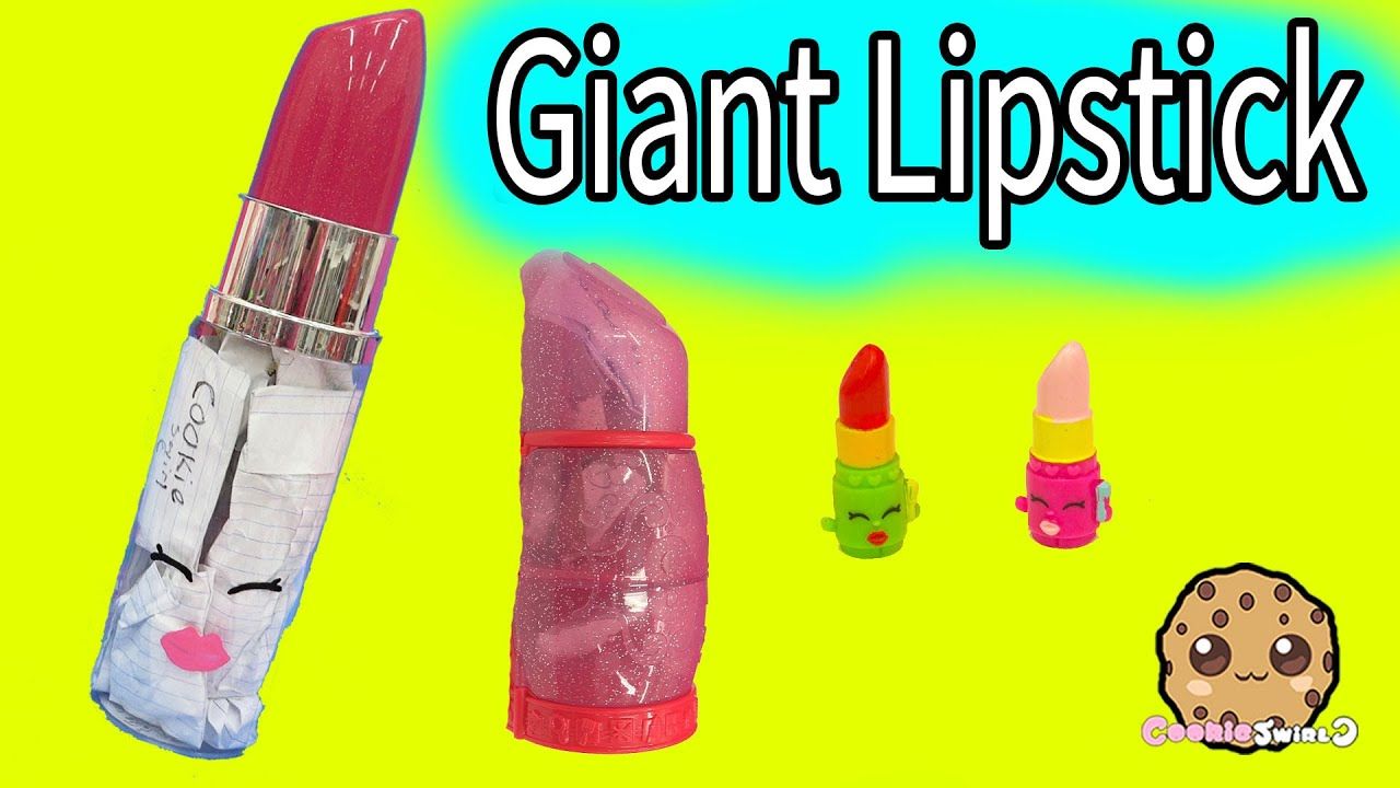 Giant Lipstick Filled With Handmade Surprise Blind Bags At