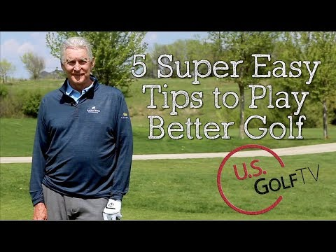 5 Super Simple Golf Tips from Andy North