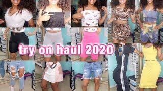 HUGE SUMMER TRY ON HAUL 2020 (fashion nova, pretty little thing, etc)
