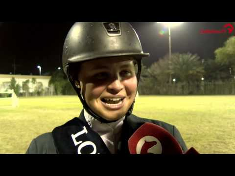 Maria Victoria Perez   Interview   FBMA International Show Jumping Cup 2017   Abu Dhabi