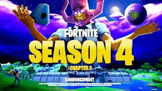 *NEW* FORTNITE SEASON 4 MAJOR EVENT TEASER! ALL DETAILS & LEAKS!: BR