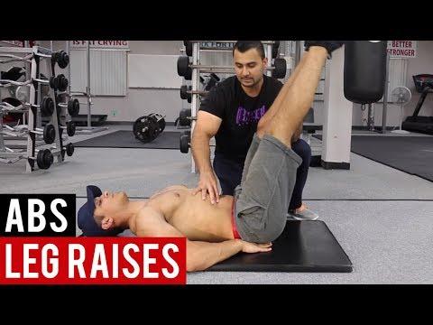 LEG RAISES for ABS! (Hindi / Punjabi)
